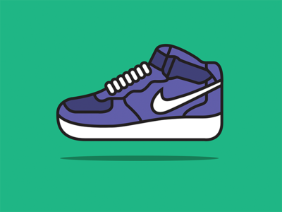 Nike Air Force 1 Mid Illustration