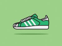 Adidas Superstar Illustration