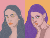 Illustrated (freehand) Portraits