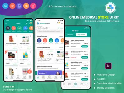 Online Medical Pharmacy app