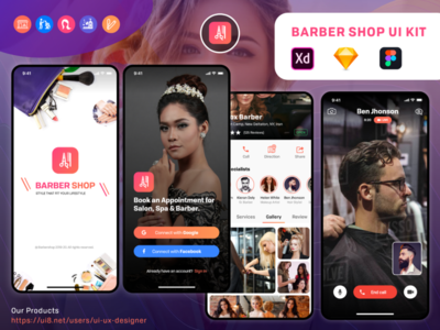 Barber & Salon app