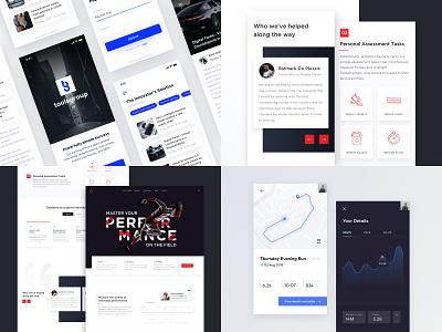 Top 4 Designs 2018 modern ux mobile website app 2018 ui