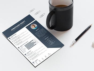 Resume template simple cv resume