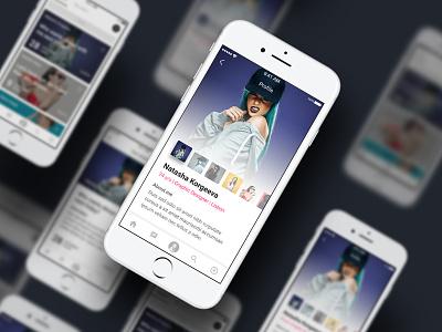 Polishing dating app app profile dating design ui
