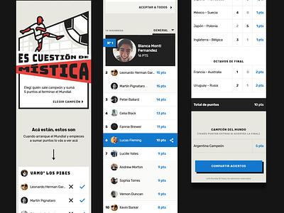 Jugá A24 ⚽️ constructivism russia worldcup sport soccer futbol mobile-first ui ux
