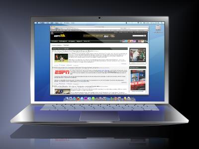 Laptop icon laptop espn illustrator watchespn