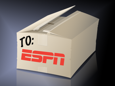 Outside the Box? icon cardboard box espn illustrator