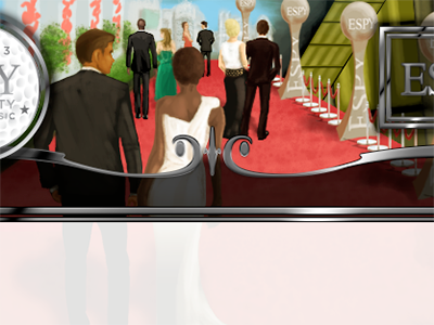 Redcarpet espys digital painting photoshop