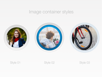 Image container styles