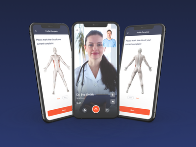 Doctor Consultant App consulting doctor research landing ux ui