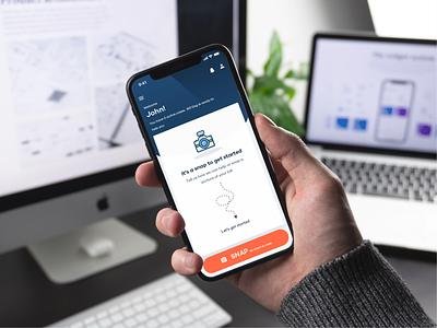 Medical Billing and Claims illustration ux ui mobile ui finance app medical app claims clinic doctor app app design app