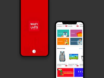 Online Shopping splash loader onboarding illustration ux mobile app shopping app
