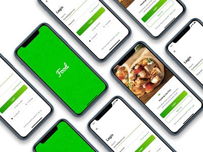 Food App Design clean ux design ux  ui user experience user interface food and drink food app illustration