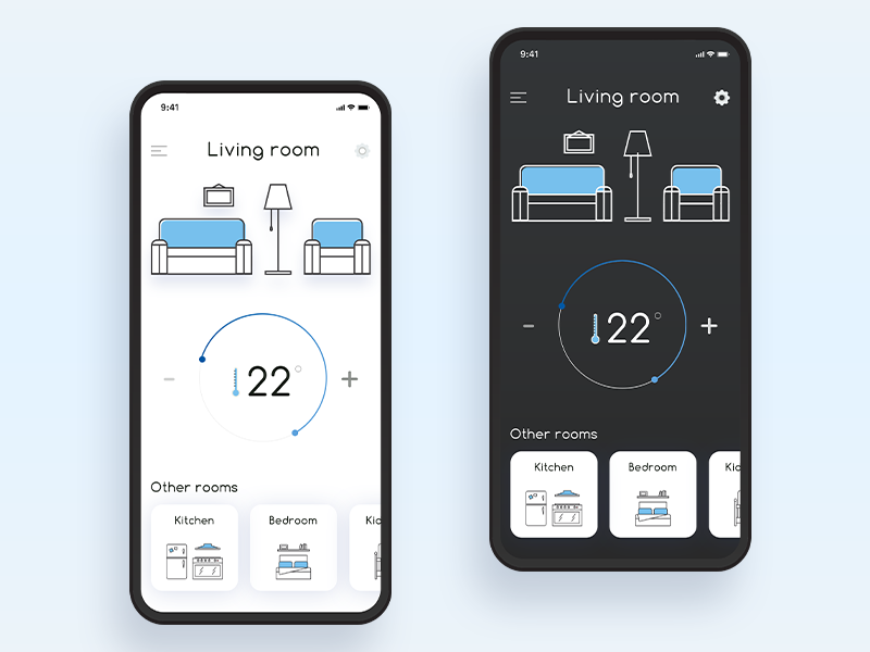 Home Monitoring Dashboard 021 home monitoring illustration minimal mobile daily 100 challenge flat ui design dailyui