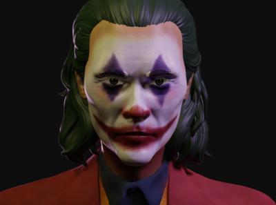 Joker - Zbrush illustration sculpt sculpting 3d gotham batman joaquin phoenix zbrush pixlogic joker zbrush