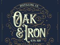 Oak & Iron.