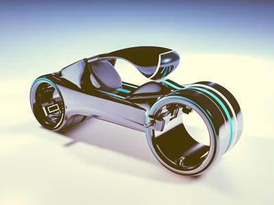 """Tron Bike"" Concept"