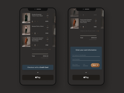 Checkout page for online retail shop design clothing store ecommerce retail product design uidesign ui visual design visualdesign dailyui 002 dailyuichallenge daily ui dailyui