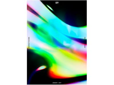 POTW 09 ― JAN. 2017 print poster modernart minimalism graphicdesign graphic designtrends designposter design cooldesign artdirection