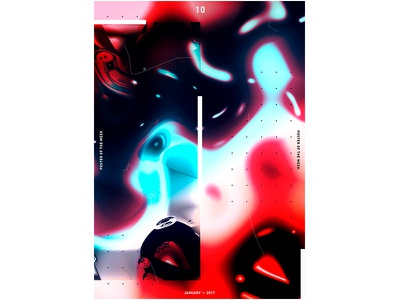 POTW 10 ― JAN. 2017 print poster modernart minimalism graphicdesign graphic designtrends designposter design cooldesign artdirection