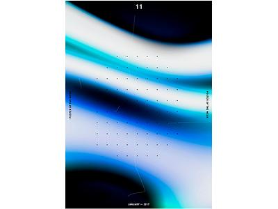 POTW 11 ― JAN. 2017 print poster modernart minimalism graphicdesign graphic designtrends designposter design cooldesign artdirection