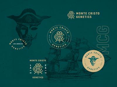 Monte Cristo Genetics Brand Identity