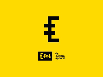 Fit Custom Apparel Logo Design