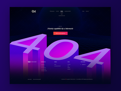 🆒👁️‍🗨️ Modern 404 Page | Gradients CourseMakers 404 Website 80s gradients 404 page 404