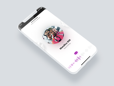 #DailyUI day 8 - Music Player 🎺🎺🎺 interactions seamless iphone x design application dailyui ux ui music player