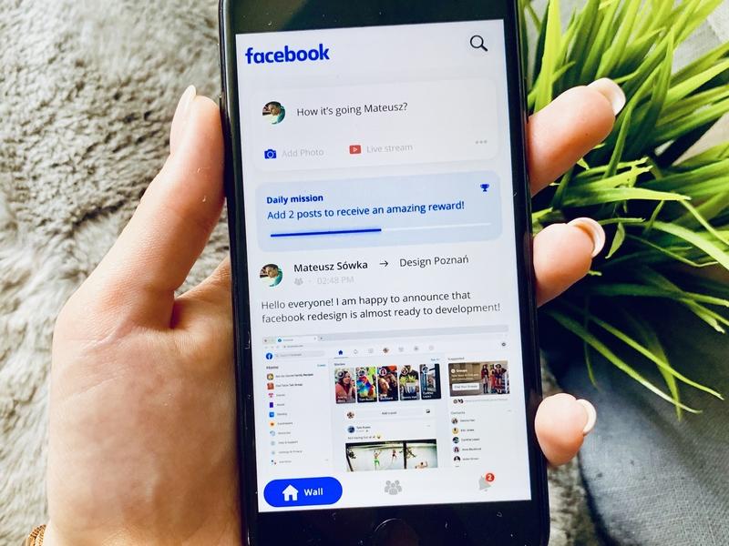Facebook Application Redesign
