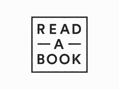 Read a book lettering typography stamp bookmarks book read