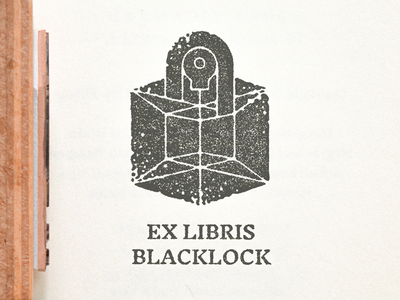 Ex libris Mark Blacklock