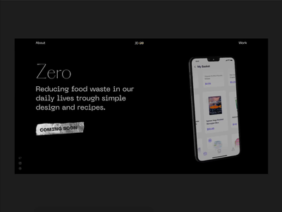 Personal Portfolio - Projects web prototype clean principle ios sketch app design ux ui