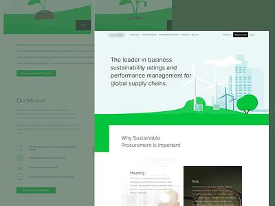 CSR - Website website simple illustration clean ui ux sketch design web