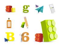 Classroom icons