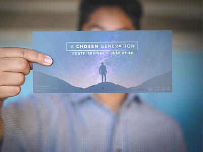 Youth Revival Postcards media church postcards design print