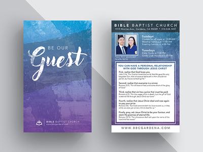 Invitations for a Church