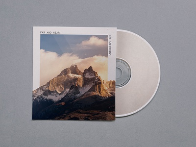 CD Cover church graphic visual design product nature mountains music cover cd