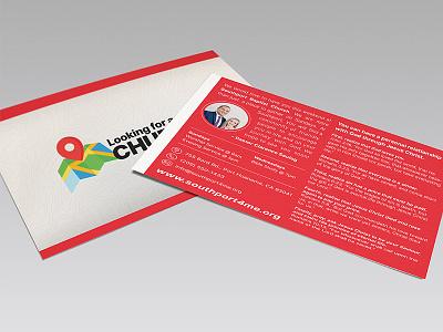 Outreach Postcard project design graphic print christian advertisement marketing church postcard outreach