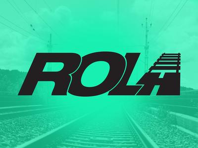 ROLA logo concept