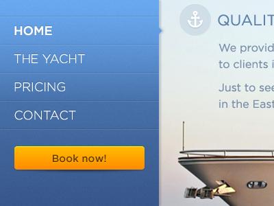 Yacht boat yacht blue navigation anchor