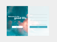 DailyUI 001 | Sign up screen dailyuichallenge signup dailyui ui