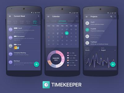 TimeKeeper Android Version