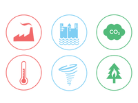 Climate Change icons