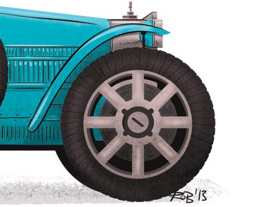 Dribbble bugatti