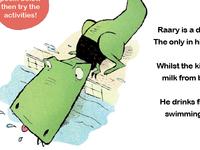 RAARy the dinosaur activity book