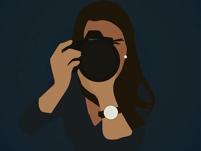 Selfie Illustration (Updated)