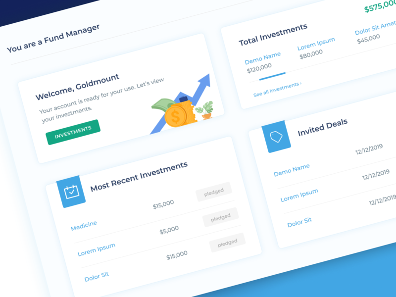 Financial Web App revamp