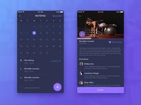 Fitness -Mobile App