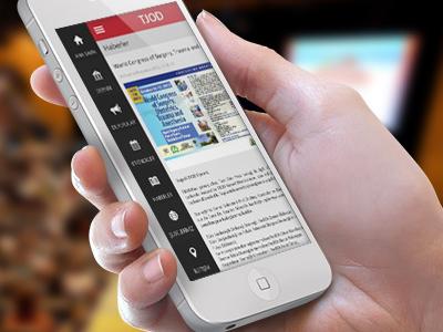 TJOD iOS App Design ios app